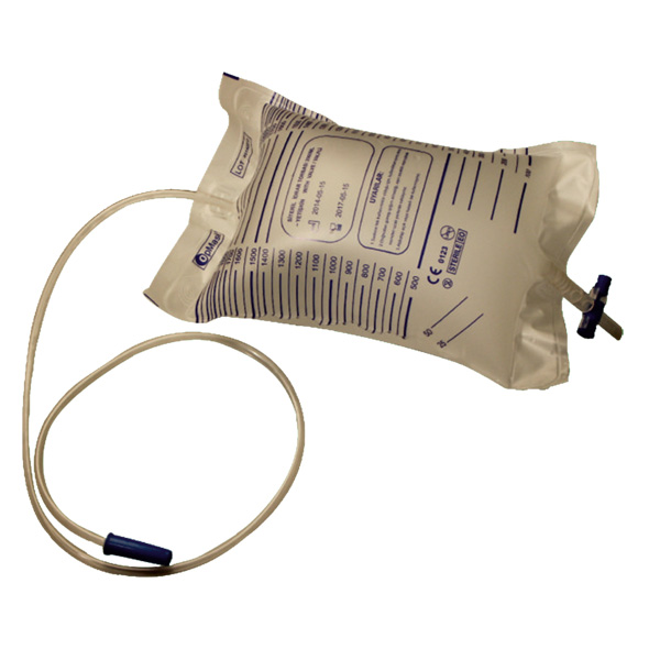 OpMask Adult Urine Bag with Valve